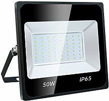 Projecteur LED 50W, IP65 Imperméable, 4500LM,