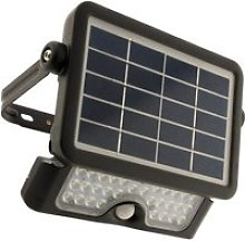 Projecteur LED 5W avec panneau solaire et
