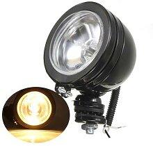 Projecteur LED antibrouillard halogène H3 55W, 4