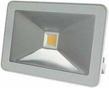 Projecteur led design - 10 w, blanc chaud - blanc