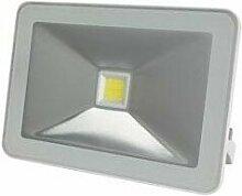 Projecteur led design - 10 w, blanc neutre - blanc