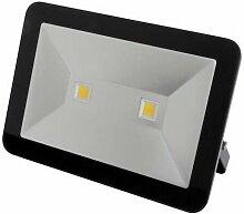 Projecteur led design - 100 w, blanc neutre - noir