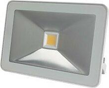 Projecteur led design - 20 w, blanc chaud - blanc