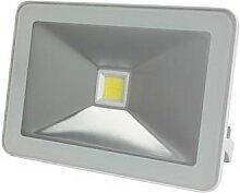 Projecteur led design - 20 w, blanc neutre - blanc