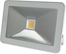Projecteur led design - 30 w, blanc chaud - blanc