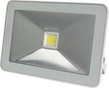 Projecteur led design - 30 w, blanc neutre - blanc