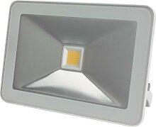 Projecteur led design - 50 w, blanc chaud - blanc