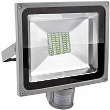 Projecteur LED Détecteur de Mouvement 50W, SMD