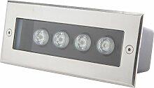 Projecteur LED Encastré Rectangulaire IP67 4W