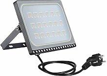 Projecteur LED Extérieur, 100W Floodlight Blanc