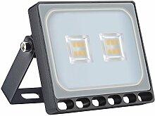 Projecteur LED Extérieur, 10W 1000lm, Blanc Chaud