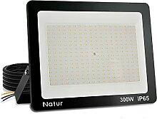 Projecteur LED Exterieur 300W, 30000lm Spot LED