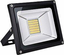 Projecteur LED Extérieur 30W 3000lm Sécurité
