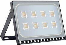 Projecteur LED Extérieur, 50W 5000lm, Blanc Chaud