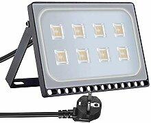 Projecteur LED Extérieur, 50W 5000lm Floodlight