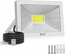 Projecteur LED Extérieur 50W, CLY 6500K