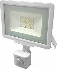 Projecteur LED Extérieur 50W IP65 BLANC avec