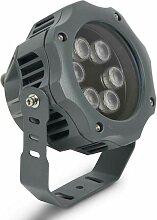 Projecteur LED extérieur de sol 12W 24V 3000K