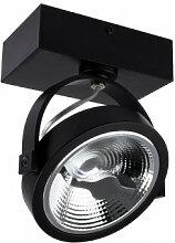 Projecteur LED Fer 01 Noir Sklum