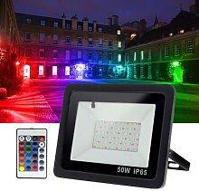 Projecteur LED imperméable à large faisceau,