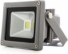 Projecteur LED IP65 10W 850Lm 12-24VDC | Blanc