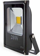 Projecteur LED IP65 20W 1400Lm 30.000H | Blanc