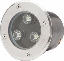 Projecteur LED IP67 Encastré 3W 285Lm 30.000H