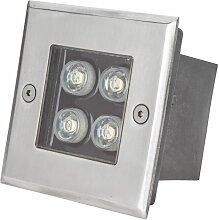 Projecteur LED IP67 Encastré 4W 380Lm 30.000H