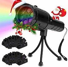 Projecteur LED, lumières de Noël de poche