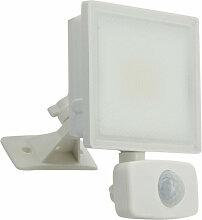 Projecteur LED Mural Blanc, Détecteur de