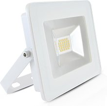 Projecteur Led Plat 20W (180W) IP65 Blanc chaud