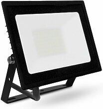 Projecteur Led Plat 50W (450W) IP65 Blanc chaud