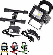 Projecteur LED Rechargeable 10W Portable IP65
