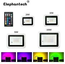 Projecteur Led RGB imperméable conforme à la