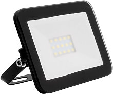 Projecteur LED Slim Crystal 10W Noir Blanc Chaud