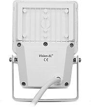 Projecteur LED SMD 10W Design Plat Extérieur IP65