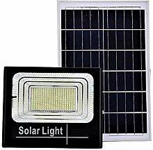 Projecteur LED SMD 200 W avec panneau solaire,