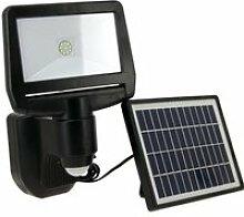 Projecteur LED solaire, 850 lumens (éclairage