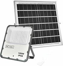 Projecteur LED Solaire ECO Professionnel 100W IP66
