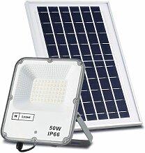 Projecteur LED Solaire ECO Professionnel 50W IP66