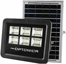 Projecteur LED Solaire Noir Équivalent 150W