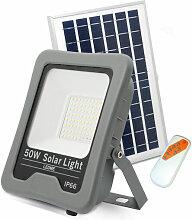 Projecteur LED Solaire Professionnel 50W IP66