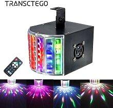Projecteur lumineux Laser RGB 18W DMX 512, lampe