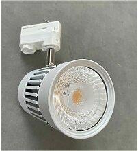 Projecteur orientable LED 45W blanc pour rail 3
