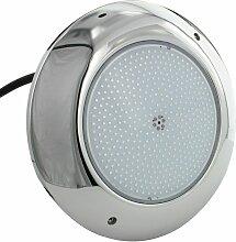 Projecteur piscine plat inox 260mm - Blanc – 35W