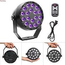 Projecteur professionnel à 18 LED UV avec