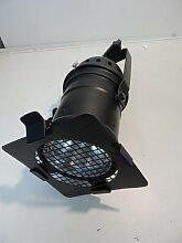 Projecteur scenique noir 440X186mm lampe iodure