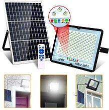 Projecteur solaire 300W en aluminium avec