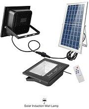Projecteur solaire à 54 ou 100 led avec