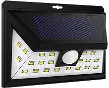 Projecteur solaire applique murale eclairage